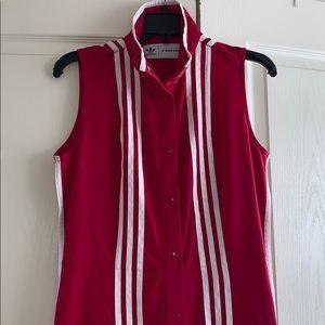 Ji won choi Adidas hot pink jumpsuit (tall)